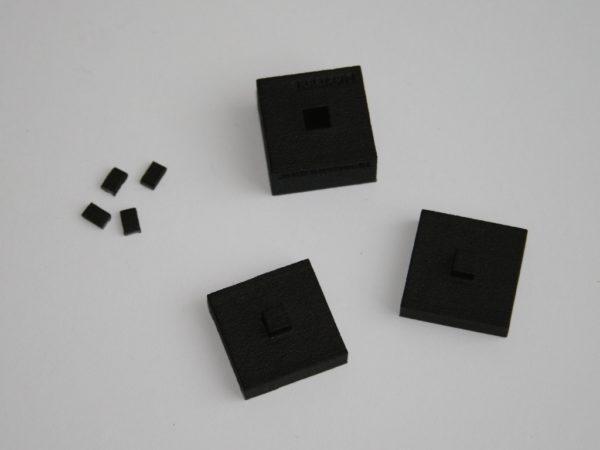 Einzelteile – die kleinen Teile gehen in den Müll